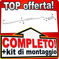 Scarico Completo OPEL CORSA C 1.2 1.4 16V 2000-2006 Marmitta +Tubo 383