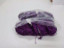Naturwolle zum stricken-Häkelgarn lila-500gr strickwolle effektgarn meliert|ro02