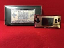 Nintendo Gameboy Micro Famicom Color Console 20th & Face Plate Famicom II Con
