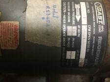 Gast R5325A-1 Regenerative air blower vacuum 2.5Hp 3ph 208-230/460 Regeair