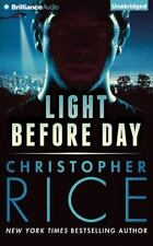 LIGHT BEFORE DAY unabridged audio book on CD by CHRISTOPHER RICE - Brand new!
