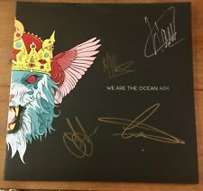 """We Are The Ocean - Ark 12""""  Vinyl Signed Autographed"""