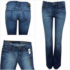 Ex GAP Women's Mid Rise Indigo Premium Bootcut Denim Jeans RRP $54.99 Size 10-22