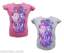 MY LITTLE PONY EQUESTRIA GIRLS TSHIRT RARITY FLUTTERSHY  AGE 4-10  *NEW*   290