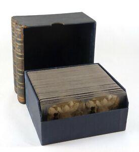 Keystone Tour of the World Stereoview Set Vols. V & VI (94 of 100 present) Boxed