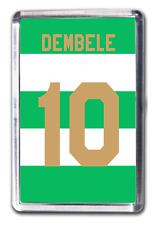 Moussa Dembele Celtic Inspired Number 10 Football Shirt Fridge Magnet