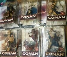 Mcfarlane Toys Conan Series 1 Complete 6 Action Figure Set 2004 Spawn New