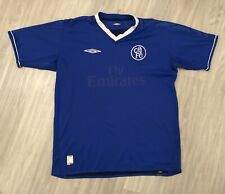 Maillot Chelsea Umbro Taille L 2003-2005 Away Jersey Football Soccer