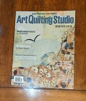Art Quilting Studio Winter 2019  Iryna Fomina Stampington Magazine J
