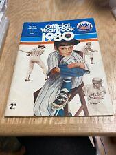 1980 New York Mets Yearbook