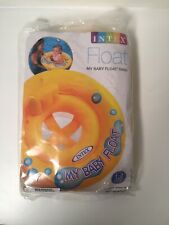 MY BABY FLOAT Ring Seat Infant Boy Girl 1-2 Summer Fun Water Pool Play INTEX TOY