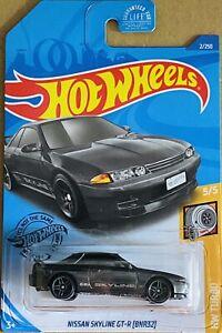 Hot wheels Nissan skyline GT-R (BNR32) Grey