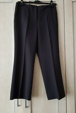 Marks and spencer Ladies bootleg trousers size 12 short Charcoal