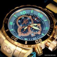 Invicta Corduba Sea Base Sapphire Black Rose Gold 52mm Chronograph Watch New