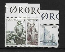 1984 Faroe Islands: Fishing / Industry Sg100-102 Unmounted Mint (Mnh)