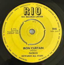 Patrick Edwards all Stars Iron Curtain Rare Original Uk Rio 1964!!