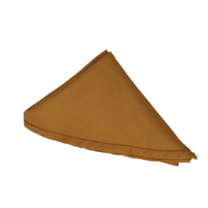 Plain Polyester Soft Napkins Lightweight Fabric Wedding Function Tableware Decor