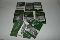 Bentley Drivers Club Review lot of 7 + lot of 3 Profile Publications