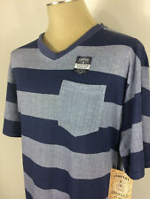 New With Tags Men's Company 81 Short Sleeve Stripe T-Shirt Size 3XB