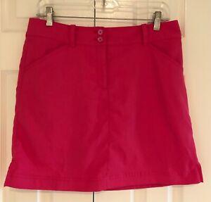 CALLAWAY Pink Opti Dri Golf or Tennis Skort - Size 8