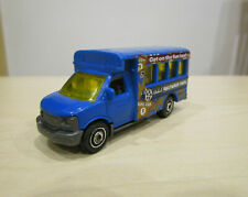Matchbox Auto Modell - GMC - Fun Bus - School Bus - Hollywood Tours -