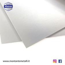 Lamiera in Alluminio Spessore mm 0,5-1-1,5-2-3-4-5-6mm Diverse Dimensioni Lastra