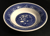 """Vintage Blue Willow Ware by Royal China 5.5"""" Dessert / Fruit Bowl"""