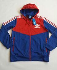 Men's ADIDAS ORIGINALS Floc Hoodie  Jacket Red/blue  Color Size M BNWT