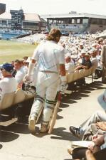 WORCESTERSHIRE & ENGLAND* SIR IAN BOTHAM SIGNED 6x4 ACTION PHOTO+COA