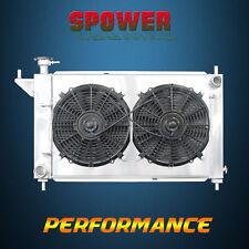 3-Row/CORE Aluminum Radiator+Fan Shroud For Ford Mustang GT GTS SVT V6 V8 94-96