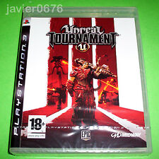 UNREAL TOURNAMENT 3 NUEVO Y PRECINTADO PAL ESPAÑA PLAYSTATION 3