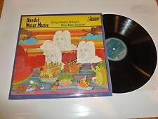 CHICAGO CHAMBER ORCHESTRA - Handel Water Music - 1969 UK 19-Track Vinyl LP