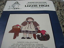 Vintage Cross Stitch Kit-Naomi Valentine From The Family & Friends .#Y26-B28