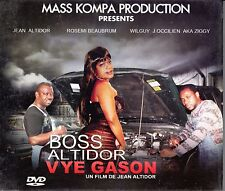 BOSS ALTIDOR VYE GASON - Haitian DVD Satire Parody Humor Nouvelle Vague PG-13
