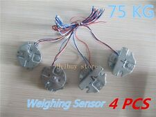 4pcs lots x 75Kg Load Cell Body Weighing Sensor Resistance strain Full-Bridge