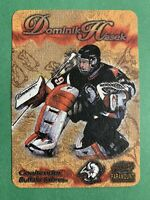1997-98 Pacific Paramount Photoengravings #4 Dominik Hasek Buffalo Sabres Insert