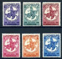 Luxemburg MiNr. 259-64 mit Falz/ Hinge Mark (O3925