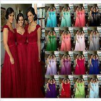 Edel Abendkleider Cocktailkleid Brautjungfern Ballkleid Host Lang Kleider 34-52