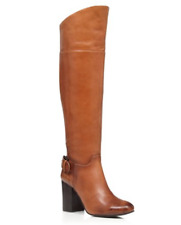 mismatch $229 size 6/7 Vince Camuto Sidney Leather Heels Tall Over The Kne Boots