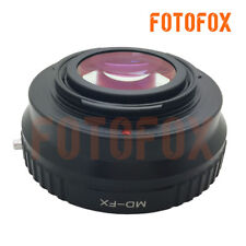 Focal Reducer Speed Booster Adapter Minolta MD mount lens to Fujifilm X-Pro2 FX