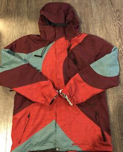"Volcom TDS Snowboard Jacket -Large-Mint Condition""Super Rad Jacket""L@@k"