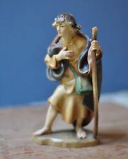 "Anri-Italy-""Shepherd with Cane"" Bernardi Nativity 5.5"""