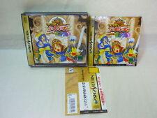 Sega Saturn WAKU WAKU PUYO PUYO DUNGEON with SPINE CARD * Import Japan Game ss
