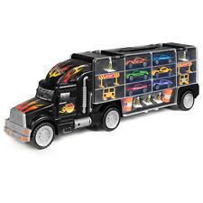 BCP 2 caras transportista camión con 18 coches y 28 Ranuras-Multicolor