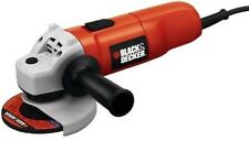 "New Black Decker Bdeg400 7750 4 1/2"" Electric Angle Grinder 5.5 Amp With Wheel"