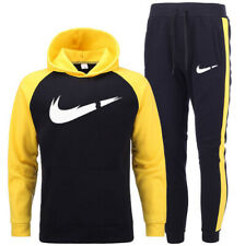 Mens Tracksuit Sets Hoodie Sweatshirt Track Pants Trousers Top & Bottoms Jogging