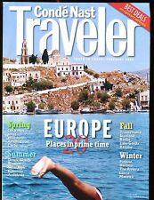 Conde Nast Traveler Magazine February 1999 Europe EX No ML 012517jhe