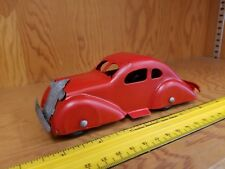 Vintage Marx Wyandotte Toy Car Coupe Pressed Steel Sedan Tin Toy Lot Usa old toy