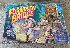 1992 Milton Bradley Forbidden Bridge Board Game not Complete TESTED WORKS