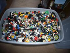 5 LB. LEGO Lot ~ ALL KINDS OF LEGO PIECES FROM SETS ~ 2 MINIFIGURES ~ POSTPAID